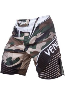 Combat shorts med khaki kamouflage tryck - CAMO HERO GREEN/BROWN