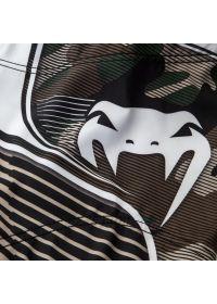 Khaki camouflage print combat shorts - CAMO HERO GREEN/BROWN