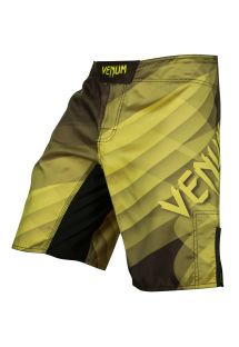 Kampshorts med Venum-logo og gule nuancer - DREAM FIGHTSHORT