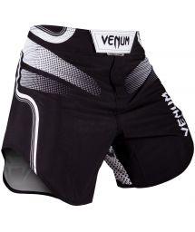 Black printed combat shorts - TEMPEST 2.0 FIGHTSHORT