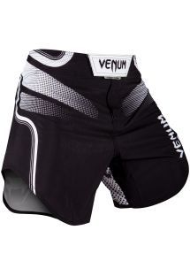 Black printed combat shorts - TEMPEST 2.0 FIGHTSHORT