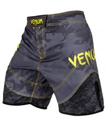 Printed fight shorts with mesh panelts - TRAMO FIGHTSHORT