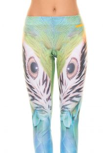 Multicoloured workout leggings ARARA GLAM
