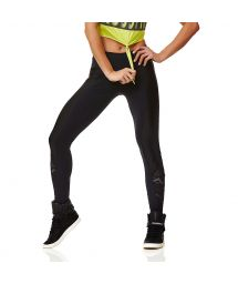 Breathablefitness leggings with lace detail - LEGGING SUPPLEX GEOMETRIC