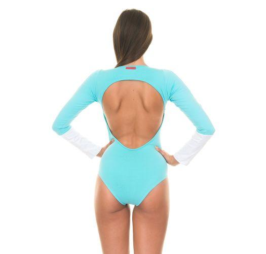 Sportdski triko sa dugim rukavima - YUCATAN BLUE