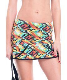 Colourful printed skort - SAIA ORTIZ