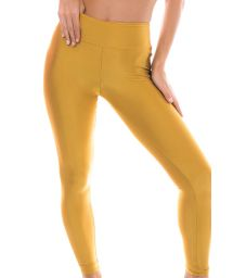 Golden fitness leggings - GOLD LEG