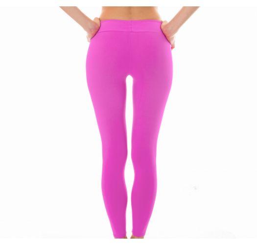 Plain pink workout leggings - LEG NZ GLAM