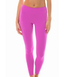 Plain pink workout leggings - LEG NZ GLAM