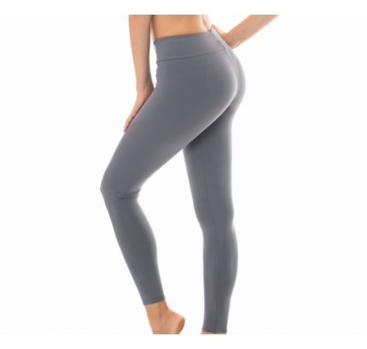 Plain grey workout leggings - LEG NZ GRIS