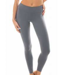 Enfärgade, gråa fitness-leggings - LEG NZ GRIS