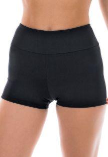 Short fitness femme noir uni - NZ PRETO SHORT