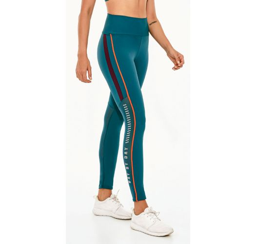 LEGGING UP CO2 STEP BY STEP VERDE