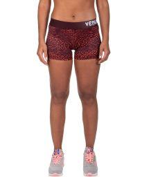 Orange/burgundy stretch athletic shorts - DUNE SHORT ORANGE