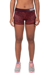 Orange/burgundy stretch athletic shorts - DUNE SHORT ORANGE