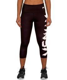 Black/white athletic capris with Venum logo - GIANT LEGGINGS