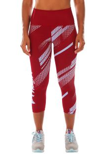 RAPID LEGGINGS CROPS CORAL
