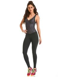 Fitness jumpsuit strappy back - EMANA STRAPPY