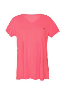 T-shirt sport rose grandes tailles - PLUS PINK HOLY