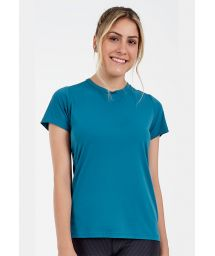 T-SHIRT SKIN FIT ROLETE COSTAS VERDE