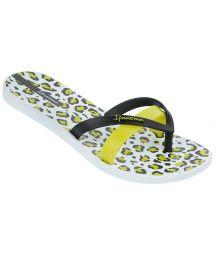 Flip-Flops - Ipanema Kirey Silk Fem White/Black/Green
