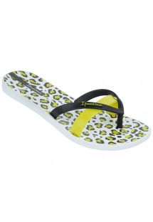 Flip-Flops - Ipanema Kirey Silk Fem White/Black/Green