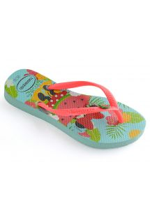 HAVAIANAS TONGUES KIDS FREEDOM ICE BLUE/