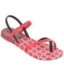 Pink Flip Flops - Ipanema Fashion Sandal III Fem Pink/Brown