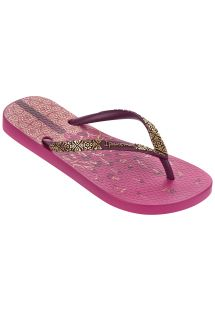 쪼리 - Ipanema Aloe Flower Fem Pink/Purple