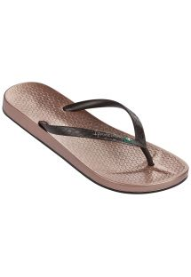 Flip-flops - Ipanema Anatomic Brilliant III Fem Rose/Marrom