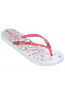 쪼리 - Ipanema Aloe Flower Fem White/Pink