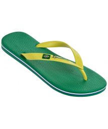 Flip-Flops - Ipanema Classica Brasil II Ad Green /Yellow