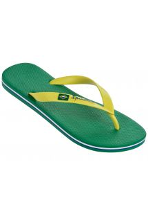 Slippers - Ipanema Classica Brasil II Ad Green /Yellow