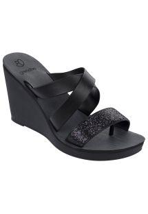 รองเท้าแตะ - Paradiso II Plat Fe Black