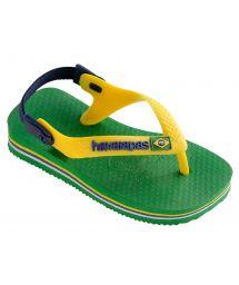 Sandaler - Havaianas Baby Brasil Logo Green