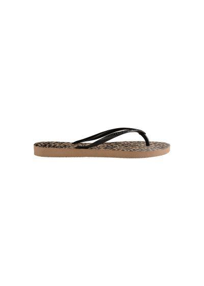 Sandaler - Havaianas Slim Animals Rose Gold/Black