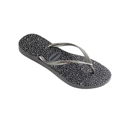 Flip-Flops - Havaianas Slim Animals Steel Grey