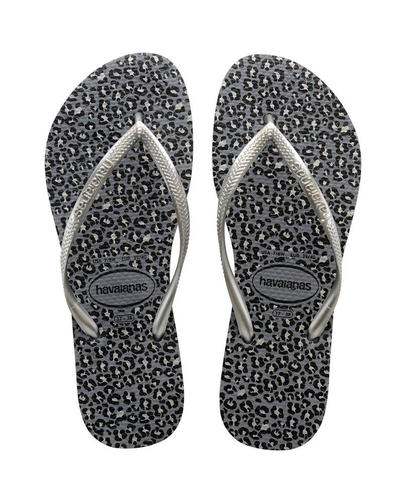 Sandaler - Havaianas Slim Animals Steel Grey