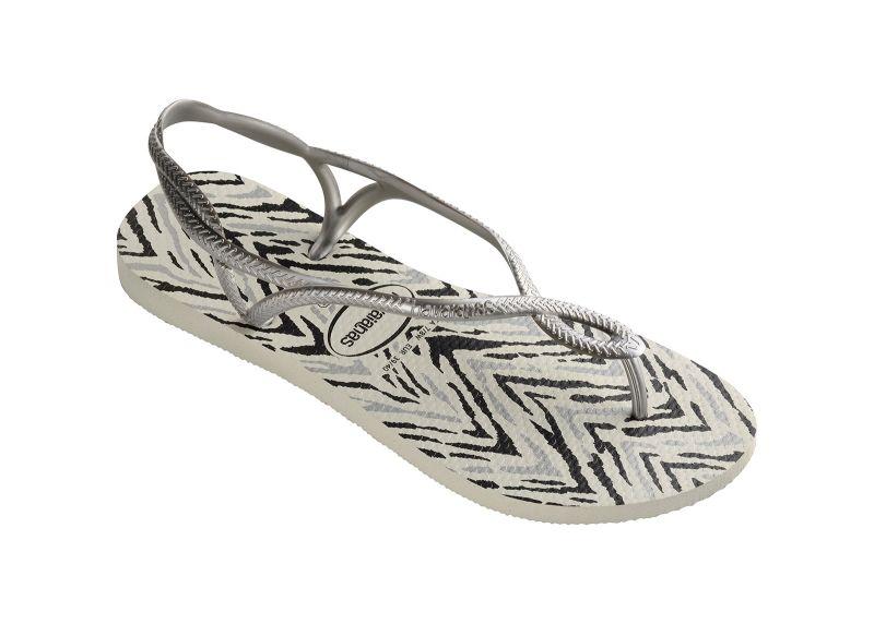 Flip-Flops - Havaianas Luna Animals White/Silver