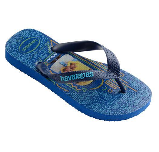 Zehentrenner - Havaianas Kids Minions Blue Star