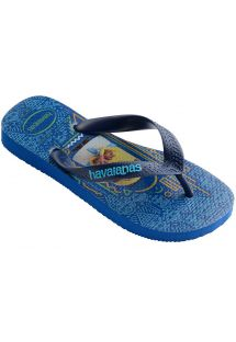 Tong Bleu - Havaianas Kids Minions Blue Star