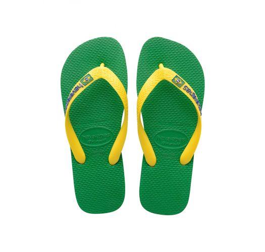 Japonke - Havaianas Brasil Logo Green