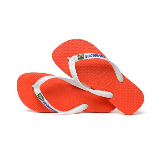 Flip-Flop - Havaianas Brasil Logo Pumpkin