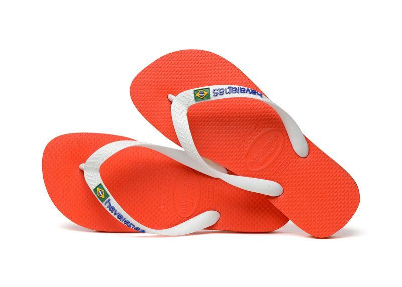 Sandaler - Havaianas Brasil Logo Pumpkin