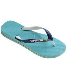 Tong Bleu - Havaianas Brasil Mix Blue