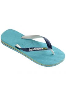 Slippers - Havaianas Brasil Mix Blue