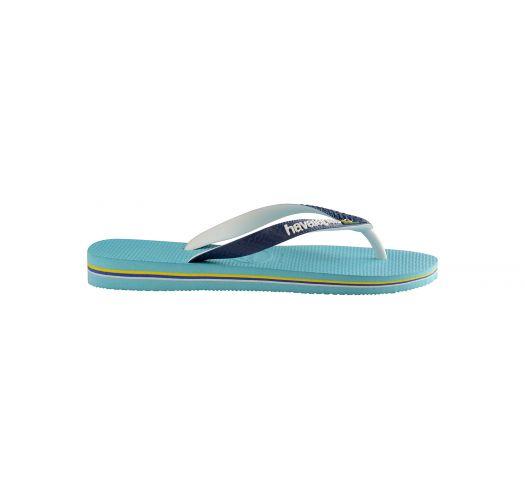 09fb487ca84330 Flip-Flops Blue Flip Flops - Havaianas Brasil Mix Blue