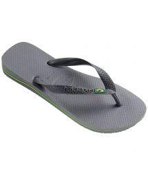 Tong - Havaianas Brasil Steel Grey