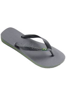 Klapki - Havaianas Brasil Steel Grey