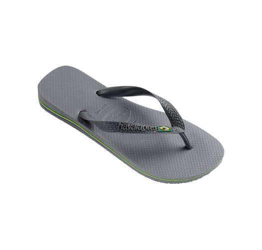 Flip-Flops - Havaianas Brasil Steel Grey